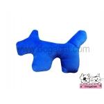 ของเล่นแมว ตุ๊กตาสุนัขแคทนิป สีน้ำเงิน