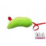 ของเล่นแมว ตุ๊กตาหนูแคทนิป สีเขียว