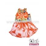 เสื้อสุนัข เสื้อแมว summerหญิง สีส้ม